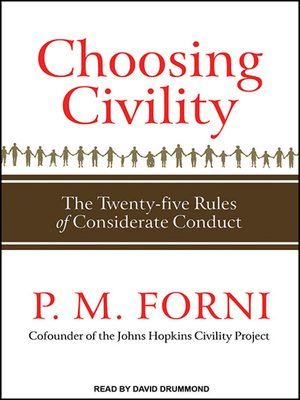 cover image of Choosing Civility