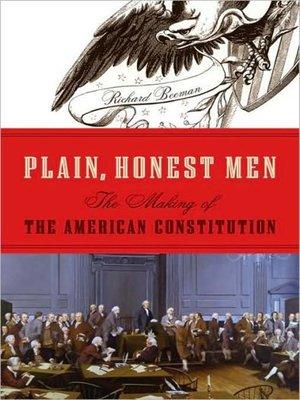 cover image of Plain, Honest Men