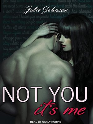 cover image of Not You It's Me