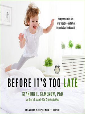 cover image of Before It's Too Late