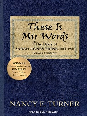 cover image of These Is My Words