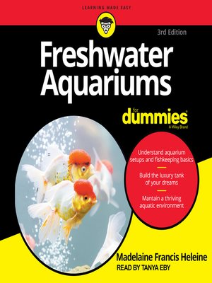 cover image of Freshwater Aquariums For Dummies