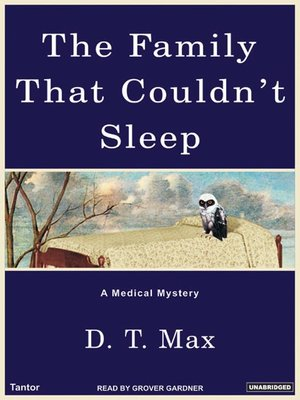 cover image of The Family That Couldn't Sleep