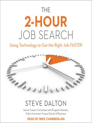 cover image of The 2-Hour Job Search