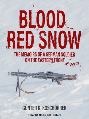 cover image of Blood Red Snow