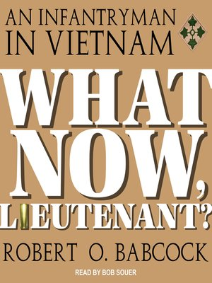 cover image of What Now, Lieutenant?