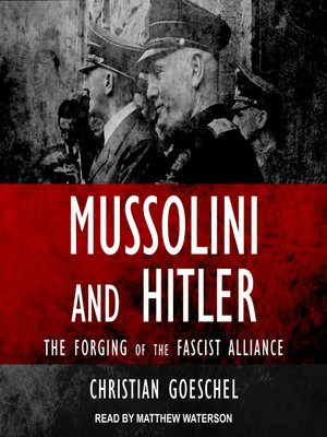 cover image of Mussolini and Hitler