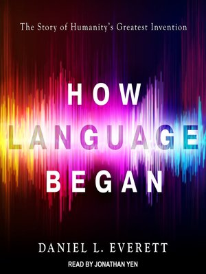 cover image of How Language Began