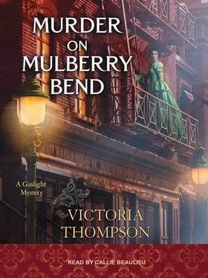 cover image of Murder on Mulberry Bend