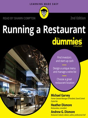 cover image of Running a Restaurant for Dummies