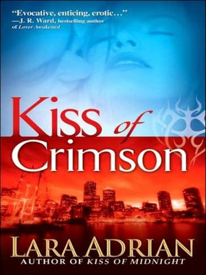 cover image of Kiss of Crimson