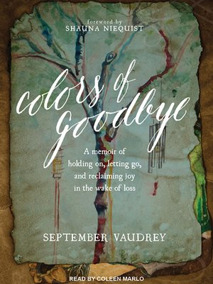 cover image of Colors of Goodbye