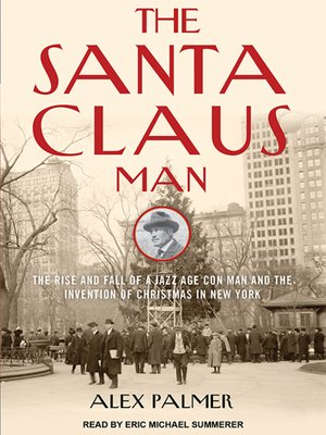 cover image of The Santa Claus Man
