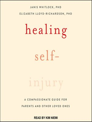 cover image of Healing Self-Injury