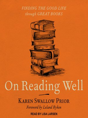 cover image of On Reading Well
