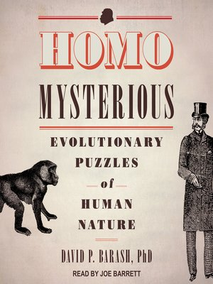 cover image of Homo Mysterious