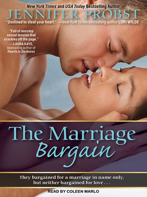 Marriage to a billionaireseries overdrive rakuten overdrive cover image of the marriage bargain fandeluxe Choice Image