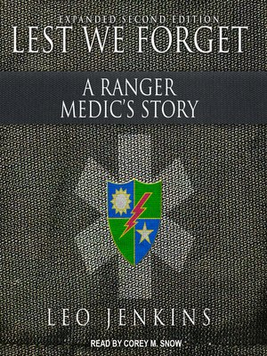cover image of Lest We Forget