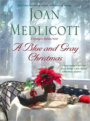 cover image of A Blue and Gray Christmas