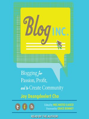cover image of Blog, Inc.