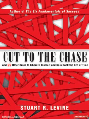 cover image of Cut to the Chase