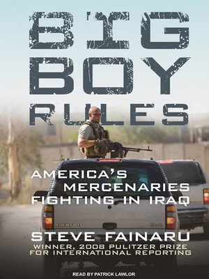 cover image of Big Boy Rules