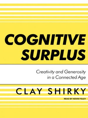 cover image of Cognitive Surplus