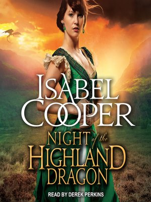 cover image of Night of the Highland Dragon