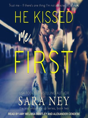 cover image of He Kissed Me First