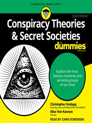 cover image of Conspiracy Theories & Secret Societies for Dummies