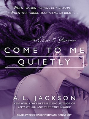 cover image of Come to Me Quietly