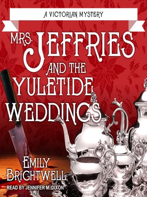 cover image of Mrs. Jeffries and the Yuletide Weddings