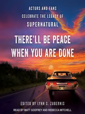 cover image of There'll Be Peace When You Are Done