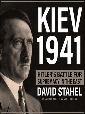 cover image of Kiev 1941