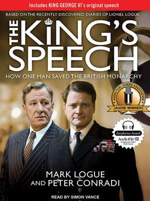 cover image of The King's Speech