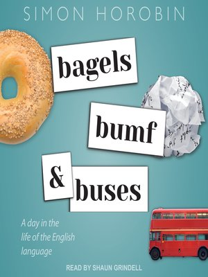 cover image of Bagels, Bumf, and Buses