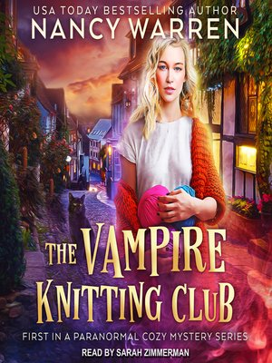 cover image of The Vampire Knitting Club