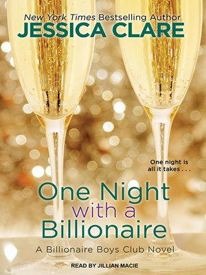 cover image of One Night With a Billionaire