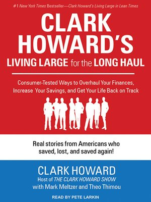 cover image of Clark Howard's Living Large for the Long Haul