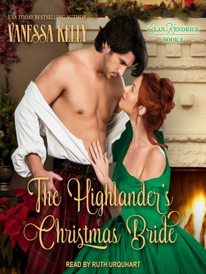 cover image of The Highlander's Christmas Bride