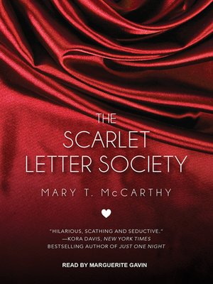 The Scarlet Letter Society By Mary T McCarthy OverDrive Rakuten EBooks Audiobooks And Videos For Libraries