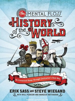 cover image of The Mental Floss History of the World