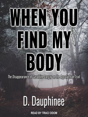 cover image of When You Find My Body