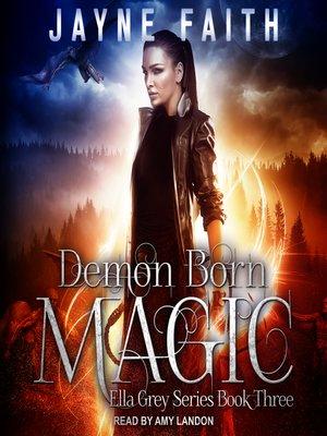 cover image of Demon Born Magic