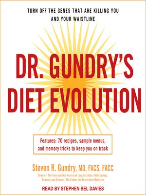 cover image of Dr. Gundry's Diet Evolution