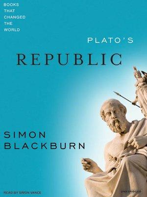 cover image of Plato's Republic