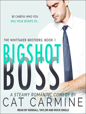 cover image of Bigshot Boss