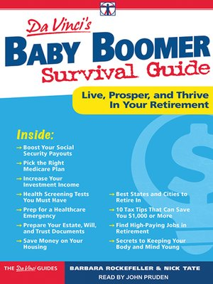 cover image of DaVinci's Baby Boomer Survival Guide