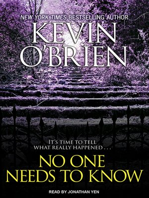 cover image of No One Needs to Know