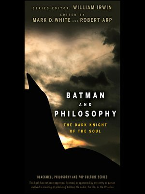 cover image of Batman and Philosophy--The Dark Knight of the Soul